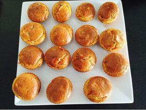 Muffins tomate cerise-champignon