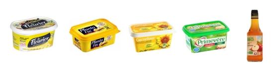 Margarines vinaigre